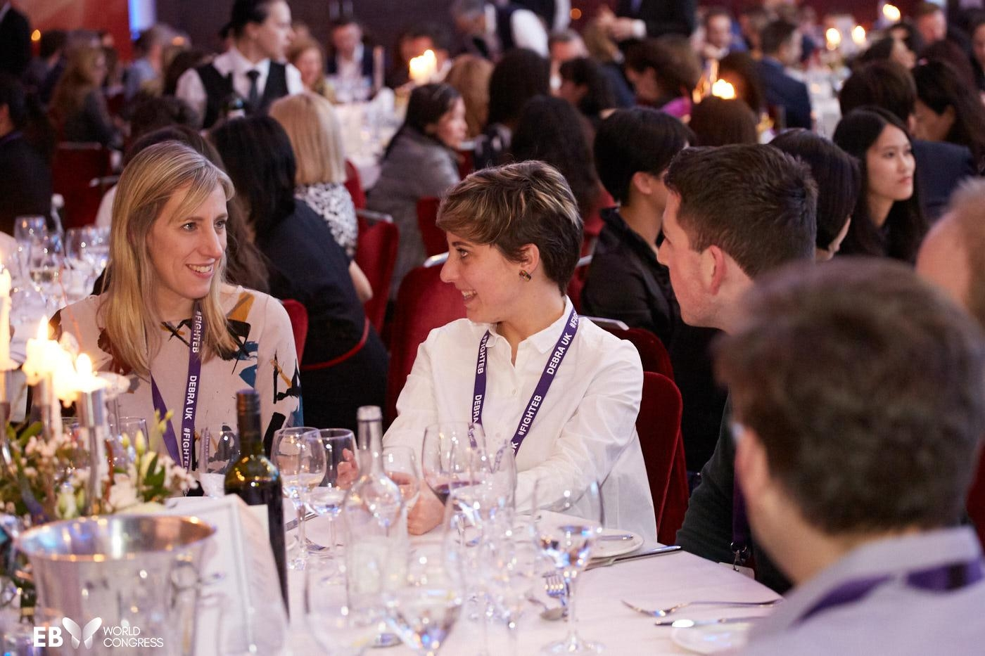 conference dinner, meetings, side fora, events, EB2020, EB Congress, EB World Congress, Blisters, Genetic, Skin, Wounds