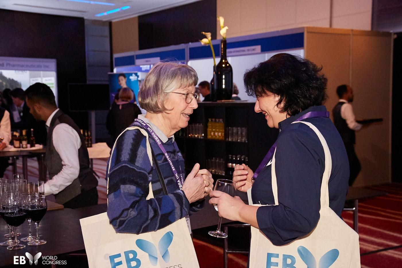 welcome reception, meetings, side fora, events, EB2020, EB Congress, EB World Congress, Blisters, Genetic, Skin, Wounds